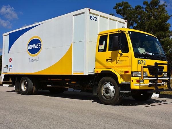 Irvine's Truck
